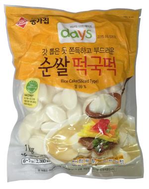 (冷蔵)『宗家』純米トック1kg■韓国食品■1966