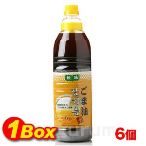 珍味ごま油1800ml【6個BOX】■韓国食品■ 2103-1