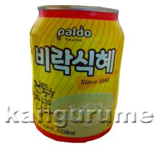 シッケ「米粒入りジュース」238ml■韓国食品■ 2301