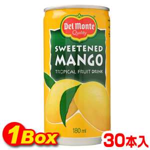 マンゴージュース「缶」180ml×30本【1BOX】■韓国食品■ 2321-1