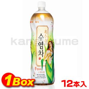 「LOTTE」とうもろこしひげ茶1.5L×12個【1BOX】■韓国食品■★TV紹介ダイエット・むくみ効果★2350-1