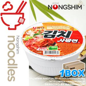 キムチカップ麺【1BOX】24個入り■韓国食品■ 2434-1