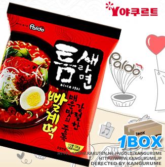 激辛トゥンセラーメン【1BOX】40個入り■韓国食品■ 2455-1