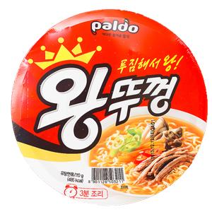 「Paldo」 王カップラーメン 110g■韓国食品■2468
