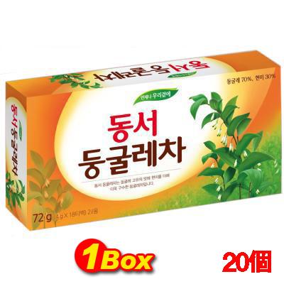 「ドンソ」ドングレ茶「4g×18ティーバッグ」×20個【1BOX】■韓国食品■ 0840-1