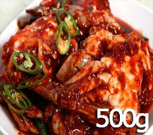 ◆冷蔵◆自家製ヤンニヨムケジャン500g■韓国食品■ 0226