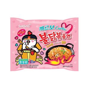 カルボブルダック炒め麺■韓国食品■2484s