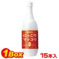 【送料無料】イドンマッコリ「PT」1L×15本【1BOX】■韓国食品■ 0131-1