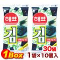 ヘピョ海苔お弁当用「10個入」×30袋【1BOX】■韓国食品■ 0304-1
