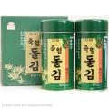 【送料無料】「のし対応」竹塩岩海苔「2缶入」■韓国食品■ 0310-s