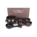 高級マッコリ壷セット■韓国食品■ 2085