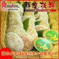 [かにのマルマサ]活ほたて貝3kg[12-18枚]北海道よつ葉バター2缶セット[活帆立貝] 2019年母の日 ギフト