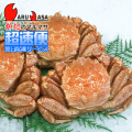 [かにのマルマサ]北海道産 [ボイル]毛がに[650g 3尾] 活毛蟹専門店/毛ガニお取り寄せ/超速便 贈り物 カニギフト