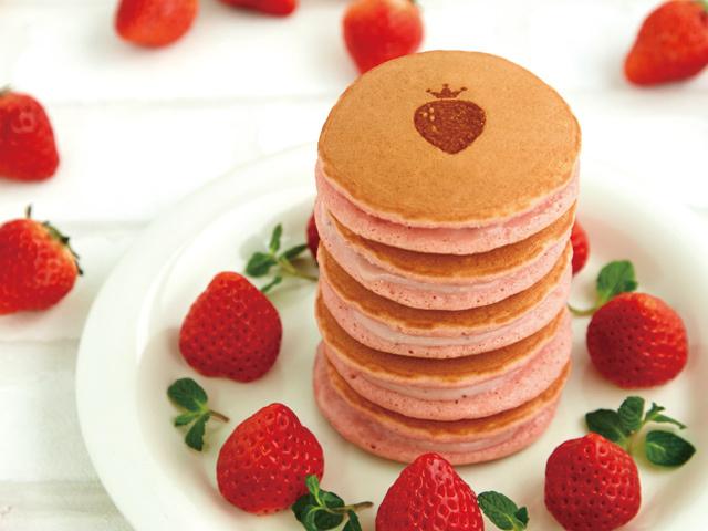 完熟いちごパンケーキ1