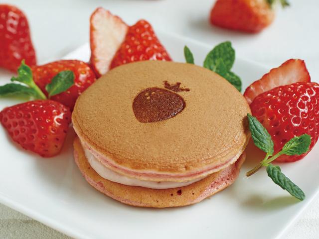 完熟いちごパンケーキ2