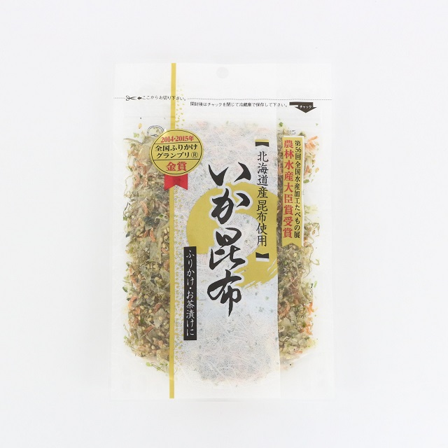 A307 いか昆布80g(イカ 烏賊)