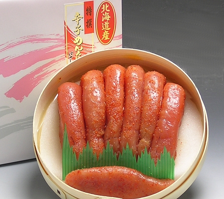 ★T323 最高級辛子明太子450g【北海道産】