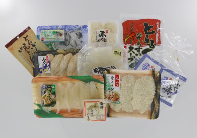 ★【送料330円(税込)】G509 福づくし玉手箱(雅)(ふぐ フグ 河豚)