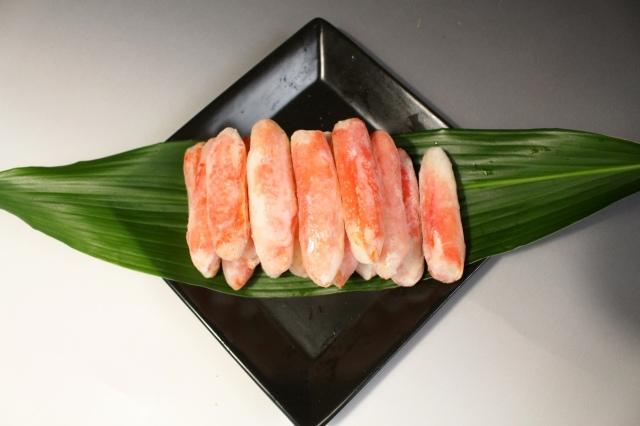 I562 ボイルズワイガニ爪下棒肉700g(重量1kg)(かに 蟹)