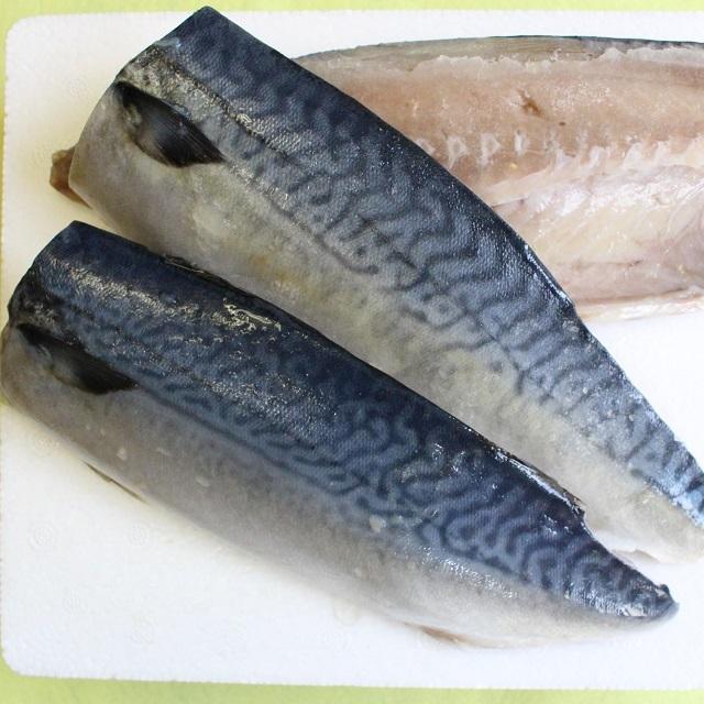 B770 塩さば片身特大4枚【北海道産】(サバ 鯖)