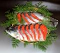★紅鮭1尾姿切身(約1.4kg)