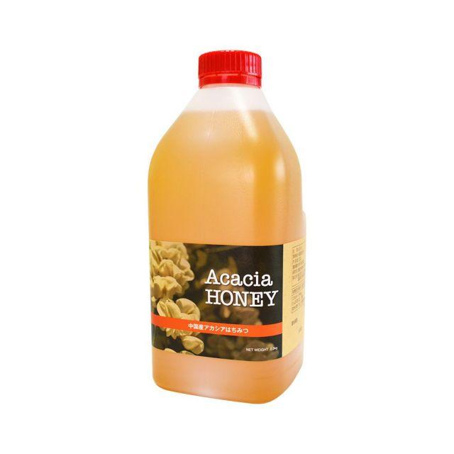 【世界の蜂蜜】中国産アカシア蜂蜜2500g(ポリ容器) 100g増量!!