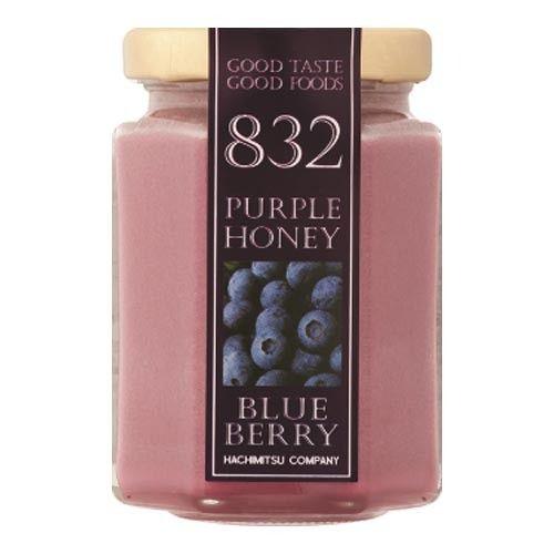 【はちみつカンパニー】カラーハニー/パープルハニー(ブルーベリー)160g瓶