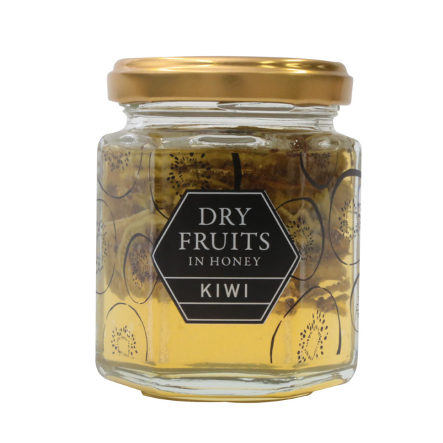 ドライフルーツインハニー(キウイ)125g ドライフルーツの蜂蜜漬け