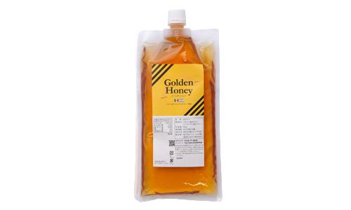 【アウトレット】ゴールデン純粋蜂蜜エコパック450g ※賞味期限2020年7月迄訳あり