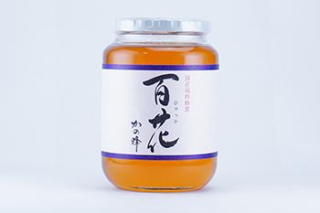【アウトレット】国産百花蜂蜜1000g※賞味期限2019年7月まで!