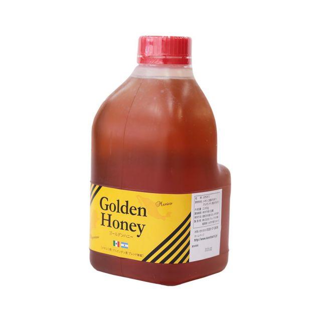 【世界の蜂蜜】ゴールデン純粋はちみつ 2kg