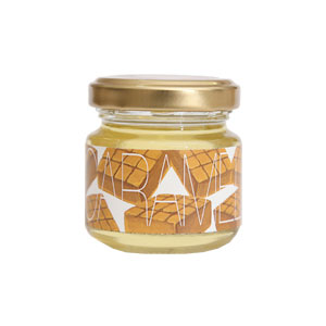 【Yamey Honeyシリーズ】フレーバーハニー はにふれ 「キャラメル」フレーバー蜂蜜(45g)