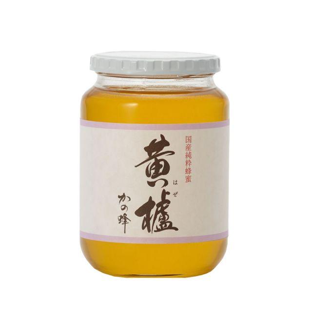 【国産蜂蜜】国産はぜ蜂蜜1000g
