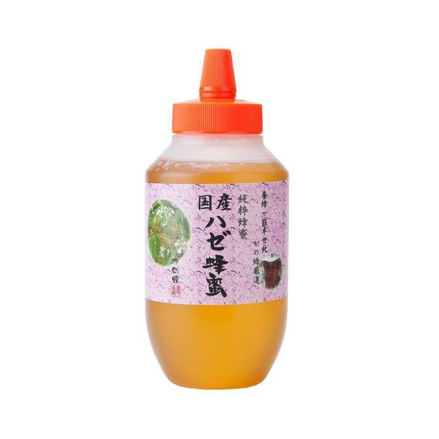 【国産蜂蜜】国産はぜ蜂蜜1000g(とんがり容器)