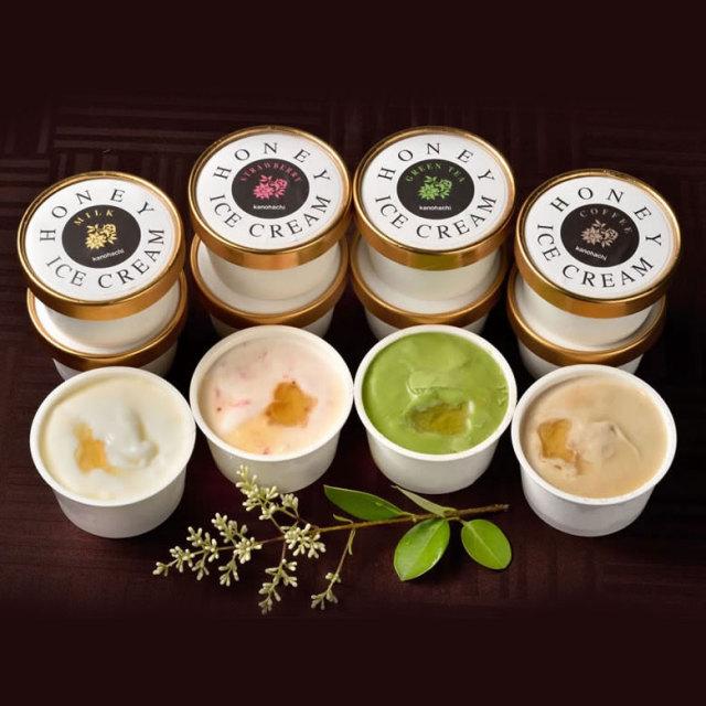 【蜂蜜ギフト】蜂蜜アイス12個セット(4種×3)