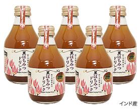 【ドリンク】インド産黒蜂蜜ドリンク×5本セット