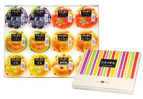 【お中元ギフト】フルーツゼリー6種(12個)セット