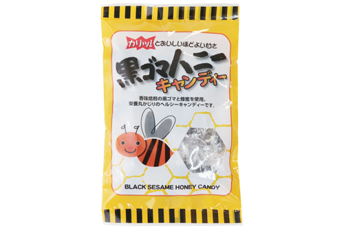 【お菓子】黒ゴマハニーキャンディー80g