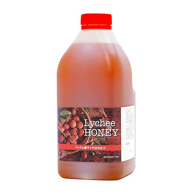 【世界の蜂蜜】ベトナム産ライチ蜂蜜(2.5kg)たっぷり使える大容量