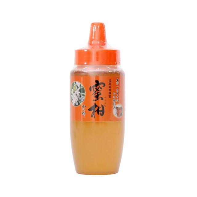【国産蜂蜜】国産みかん蜂蜜500g(とんがり容器)
