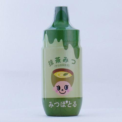 【はちみつカンパニー】みつぽとる/抹茶みつ<宇治抹茶使用>170g