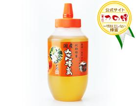 【国産蜂蜜】国産みかん蜂蜜1000g(とんがり容器)