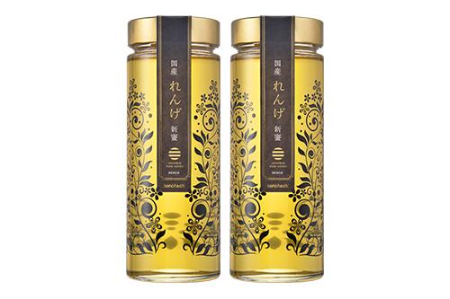 【予約販売】国産新蜜プレミアムレンゲ蜂蜜1200g(600g×2本)【5月中旬より順次発送】