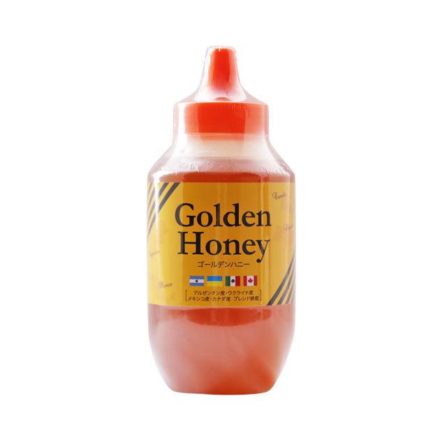 【世界の蜂蜜】リニューアル!ゴールデン純粋はちみつ 1kg