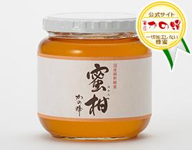 【国産蜂蜜】国産みかん蜂蜜600g