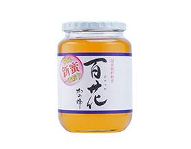 国産プレミアム百花蜂蜜1000g