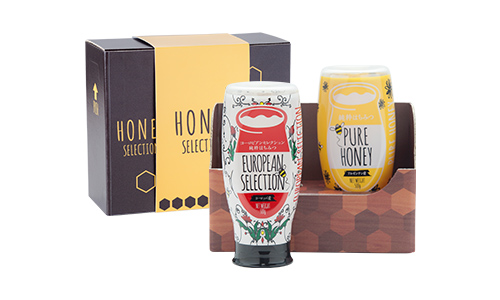 【蜂蜜ギフト】ピュアハニー2種セット(ヨーロッパ産・アルゼンチン産)