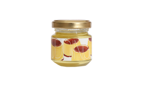 【Yamey Honeyシリーズ】フレーバーハニー はにふれ 「プリン」フレーバー蜂蜜(45g)