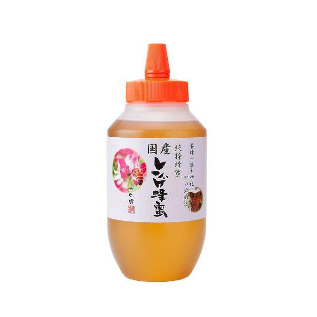 【国産蜂蜜】国産九州レンゲ蜂蜜1000g(とんがり容器)