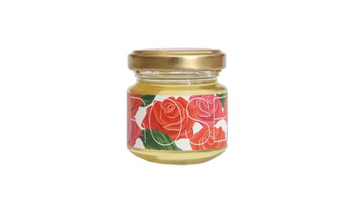 【Yamey Honeyシリーズ】フレーバーハニー はにふれ 「ローズ」フレーバー蜂蜜(45g)